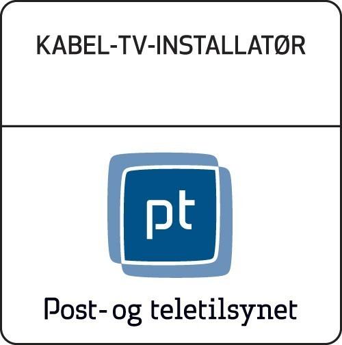 Kabel-TV-Installatør Post- og teletilsynet